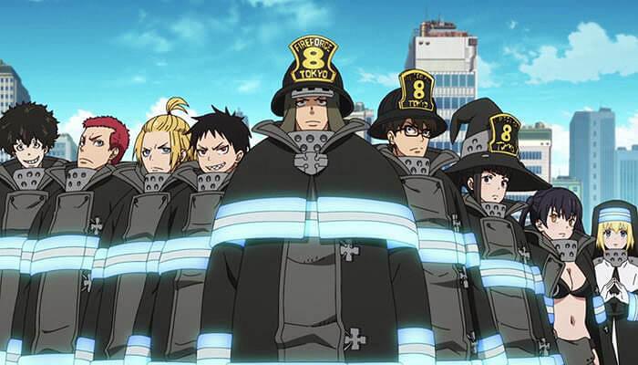 descargar fire force temporada 2 por mega
